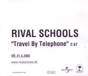 Cover - Rival Schools: Travel By Telephone