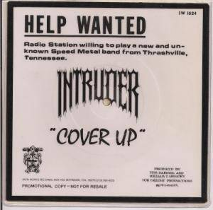 Intruder: Cover Up - Cover