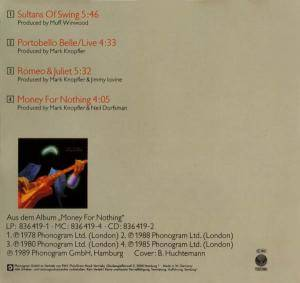 Dire Straits: Sultans Of Swing (Single-CD) - Bild 2