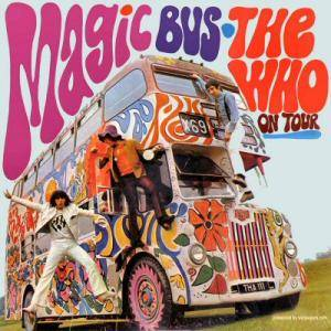 The Who: Magic Bus - The Who On Tour - Cover