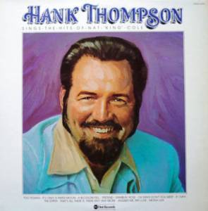 "Cover - Hank Thompson: Sings The Hits Of Nat ""King"" Cole"