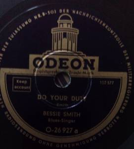 Cover - Bessie Smith: Do Your Duty