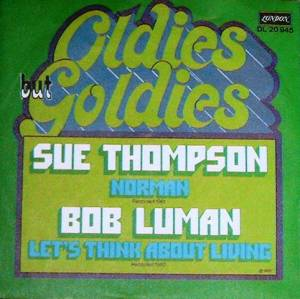 Cover - Sue Thompson: Norman / Let's Think About Living