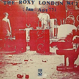 Roxy London WC2 (Jan-Apr 77), The - Cover