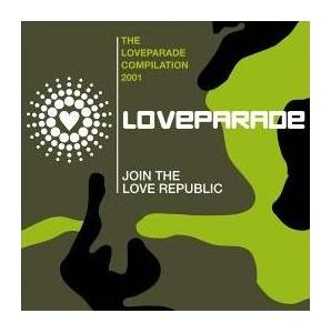 Cover - Woody: Love Parade Compilation 2001, The