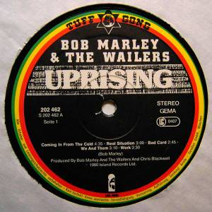 Bob Marley & The Wailers: Uprising (LP) - Bild 3