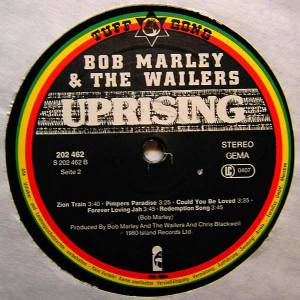 Bob Marley & The Wailers: Uprising (LP) - Bild 4