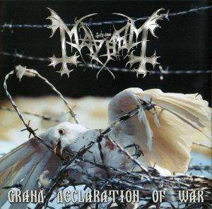 Mayhem: Grand Declaration Of War - Cover