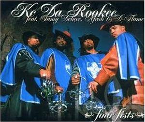 Cover - KC Da Rookee Feat. Samy Deluxe, Afrob & D-Flame: Four Fists