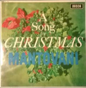 The Mantovani Orchestra: A Song For Christmas (LP) - Bild 1
