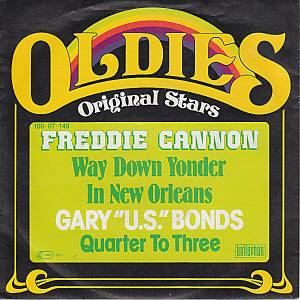 Cover - Freddy Cannon: Oldies Original Stars