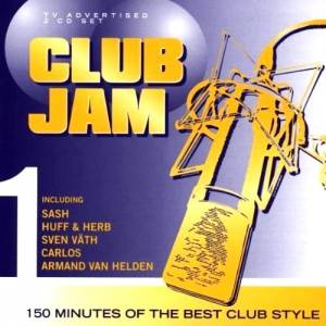 Cover - Marino Stephano: Club Jam 1 - 150 Minutes Of The Best Club Style
