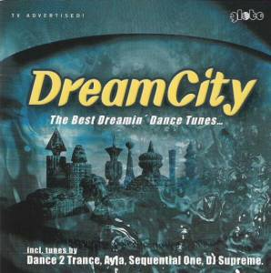 Cover - Camisra: DreamCity - The Best Dreamin' Dance Tunes