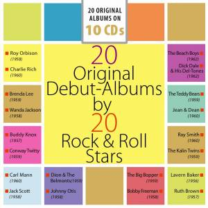 Cover - Big Bopper, The: 20 Original Debut-Albums By 20 Rock & Roll Stars