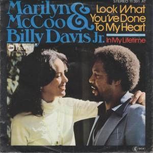 Cover - Marilyn McCoo & Billy Davis Jr.: Look What You've Done To My Heart