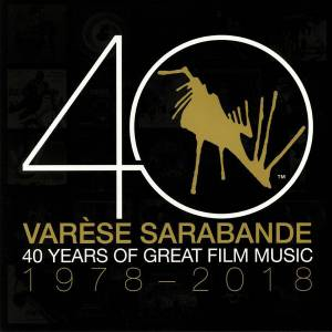 Cover - Trevor Jones: Varèse Sarabande - 40 Years Of Great Film Music