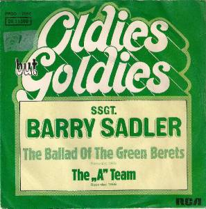 "Cover - Barry Sadler: Ballad Of The Green Berets / The ""A"" Team, The"