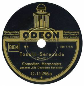 Cover - Comedian Harmonists: Toselli-Serenade