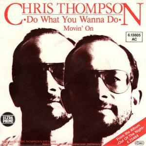 Chris Thompson: Do What You Wanna Do - Cover