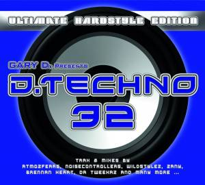 Cover - Kronos: Gary D. Presents D-Techno 32