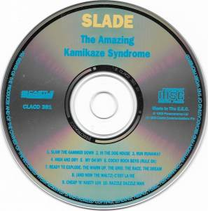Slade: The Amazing Kamikaze Syndrome (CD) - Bild 4