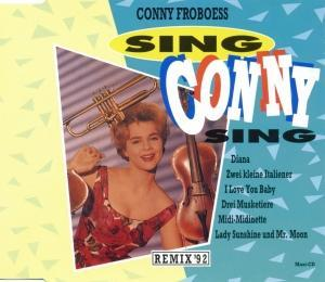Conny Froboess: Sing Conny Sing - Cover
