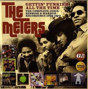 Cover - Meters, The: Gettin' Funkier All The Time (The Complete Josie / Reprise & Warner Recordings 1968-1977)