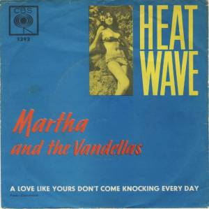 Cover - Martha Reeves & The Vandellas: Heat Wave