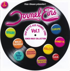 Cover - Jermaine Jackson & Pia Zadora: Beste Aus Formel Eins - Vol. 1 (12 Inch Maxi Collection), Das