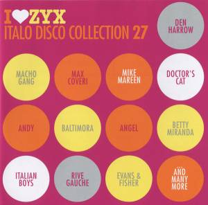 Cover - Macho Gang: I Love Zyx Italo Disco Collection 27