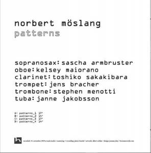 Norbert Möslang: Patterns (2-LP) - Bild 2
