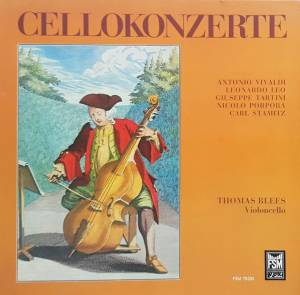 Cover - Leonardo Leo: Cellokonzerte