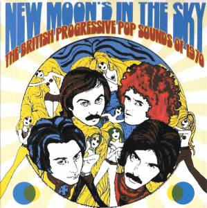 Cover - Angel Pavement: New Moon's In The Sky - The British Progressive Pop Sounds Of 1970