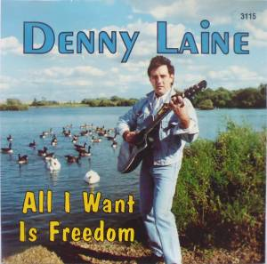 Cover - Denny Laine: All I Want Is Freedom