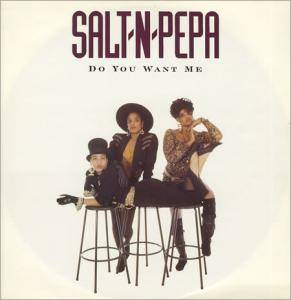 Salt'N'Pepa: Do You Want Me - Cover