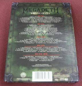Megadeth: Warchest (4-CD + DVD) - Bild 3