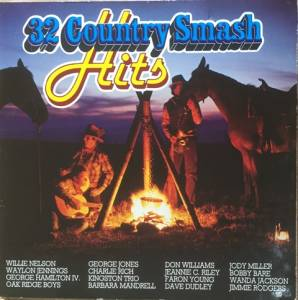 Cover - Marvin Rainwater: 32 Country Smash Hits