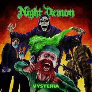 Cover - Night Demon: Vysteria