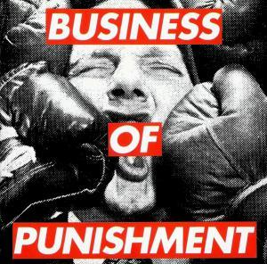 Consolidated: Business Of Punishment - Cover