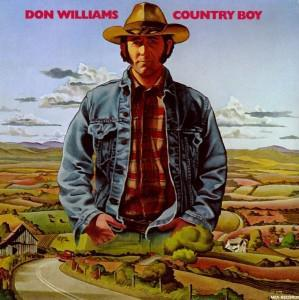 Don Williams: Country Boy - Cover