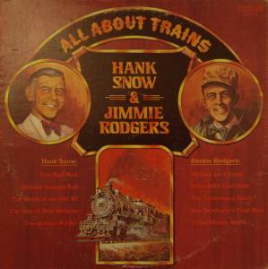 Cover - Jimmie Rodgers: All About Trains
