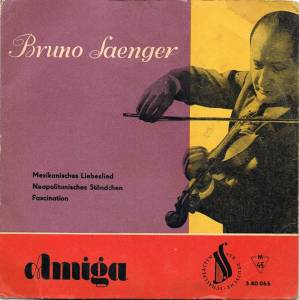 Cover - Bruno Saenger: Mexikanisches Liebeslied