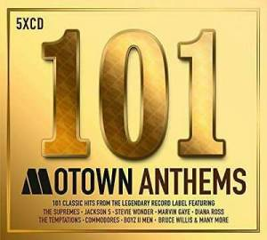 Cover - Mary Jane Girls: 101 Motown Anthems