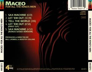 Maceo Parker: For All The King's Men (CD) - Bild 3