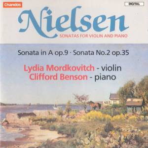 Cover - Carl Nielsen: Sonatas For Violin And Piano