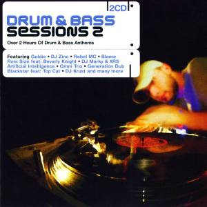 Cover - Blame: Drum & Bass Sessions 2