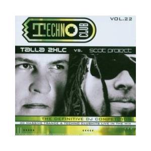 Cover - Visior & Dark Moon: Techno Club Vol. 22 - Talla2XLC Vs. Scot Project