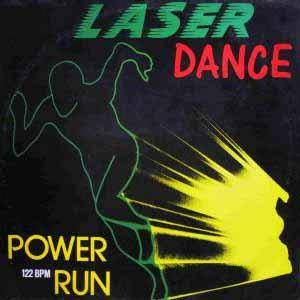 Laserdance: Powerrun - Cover