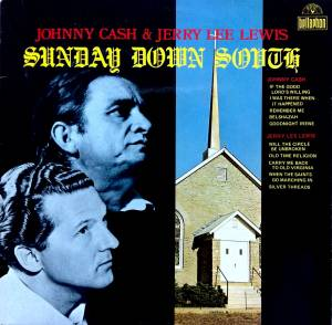 Johnny Cash: Sunday Down South - Cover