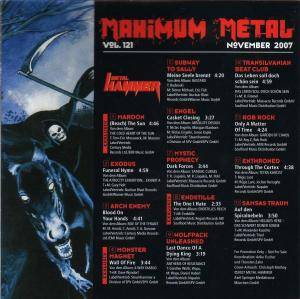 Metal Hammer - Maximum Metal Vol. 121 (CD) - Bild 2